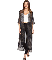 BCBGeneration - Noir Lace Duster