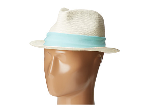 Michael Stars Ripped Tied Fedora - Clearwater