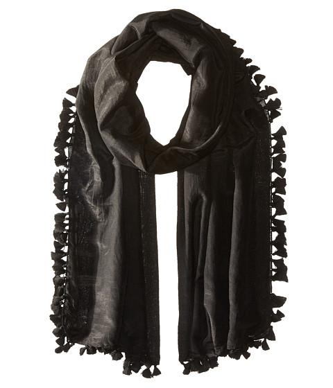 Michael Stars Silky Solid Scarf - Black