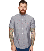 Original Penguin - Short Sleeve Chambray Argyle Print