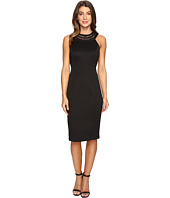 Jessica Simpson - Solid Scuba Midi Dress