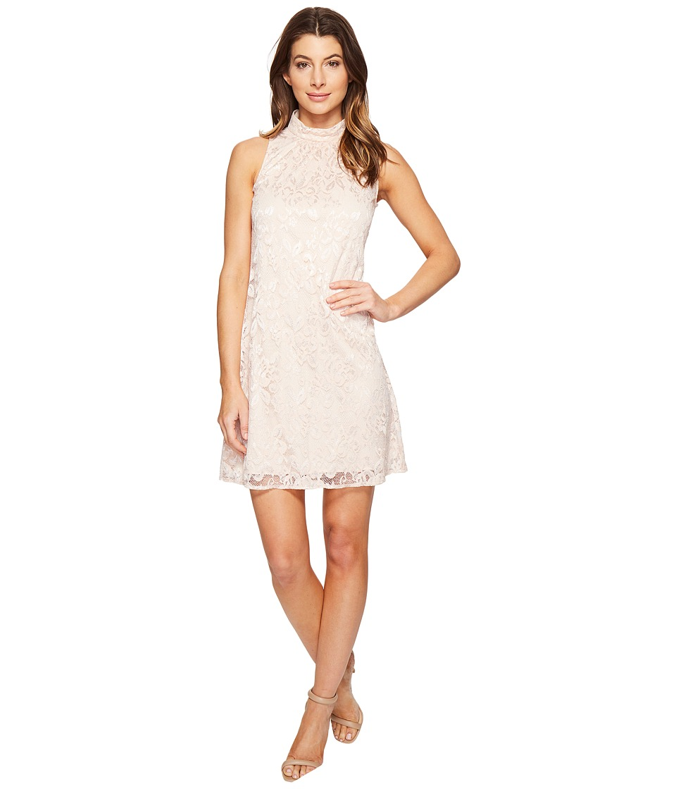 rsvp Belmac Beaded Shift Dress (Blush) Women