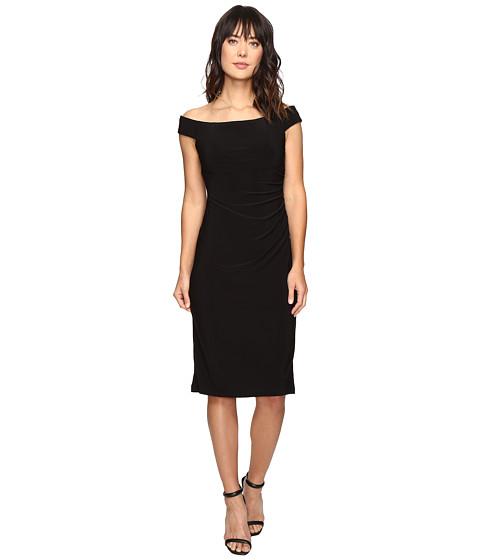 rsvp Smith Off Shoulder Dress - Black