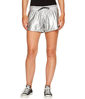 Converse - Perforated Metallic Nylon Shorts