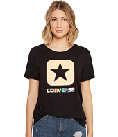 Converse - Embroidered Box Star Easy Crew Tee