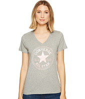 Converse - Metallic Chuck Patch V-Neck Tee