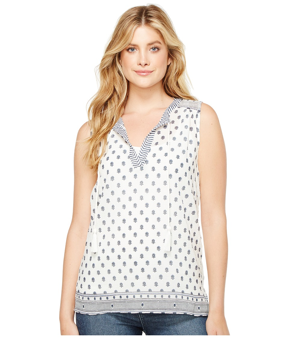 Dylan by True Grit - Sleeveless Gauzy Parker Blouse