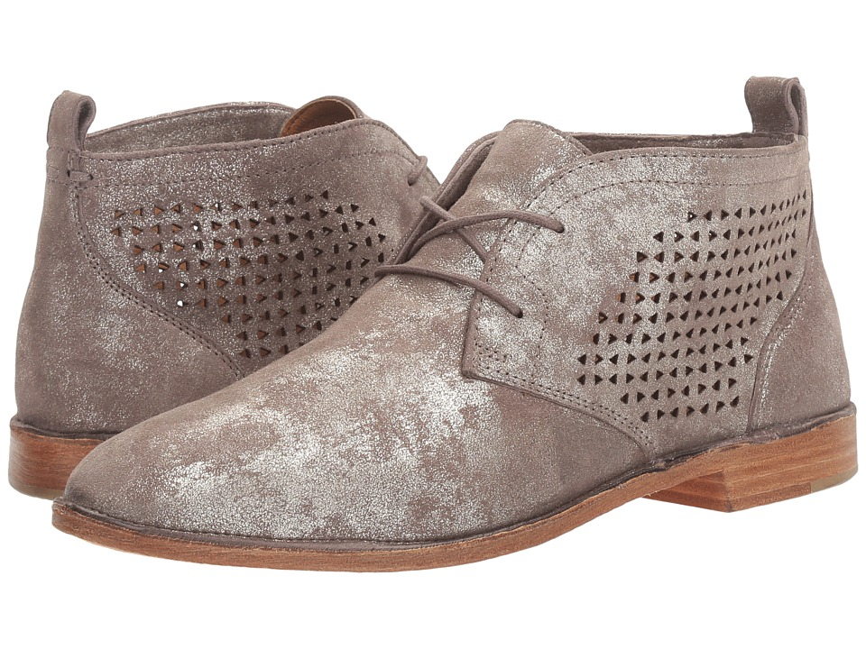 TRASK Addy (Pewter) Women's Flat Shoes