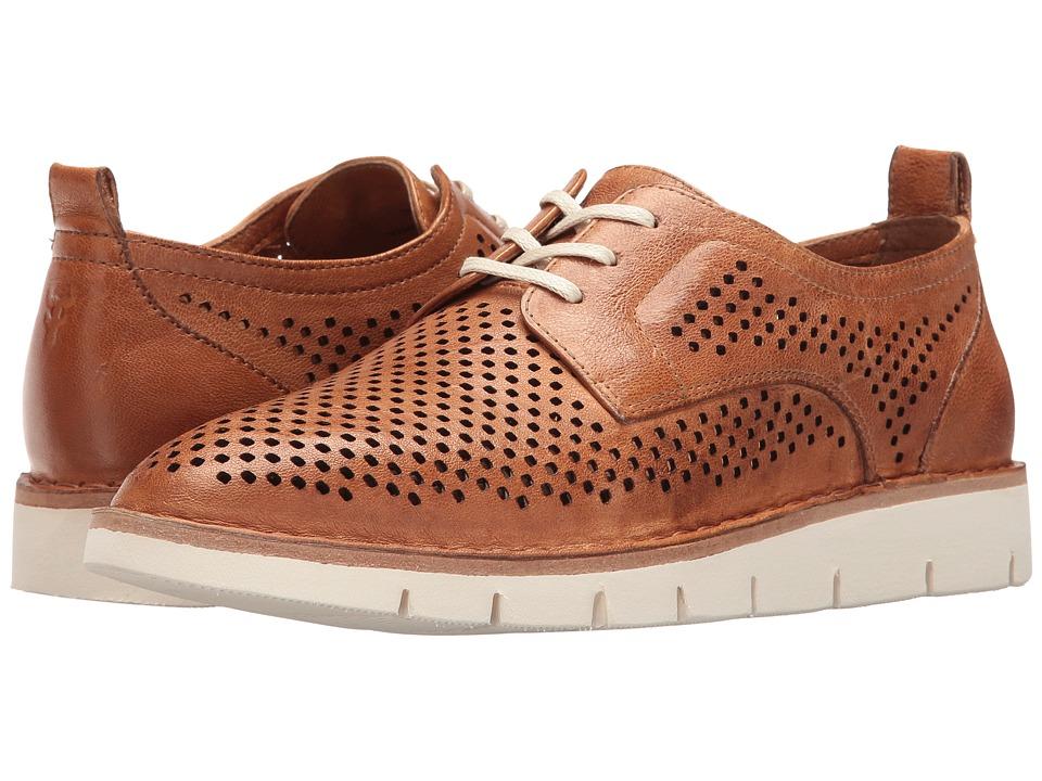 TRASK Lena (Tan) Women's Flat Shoes