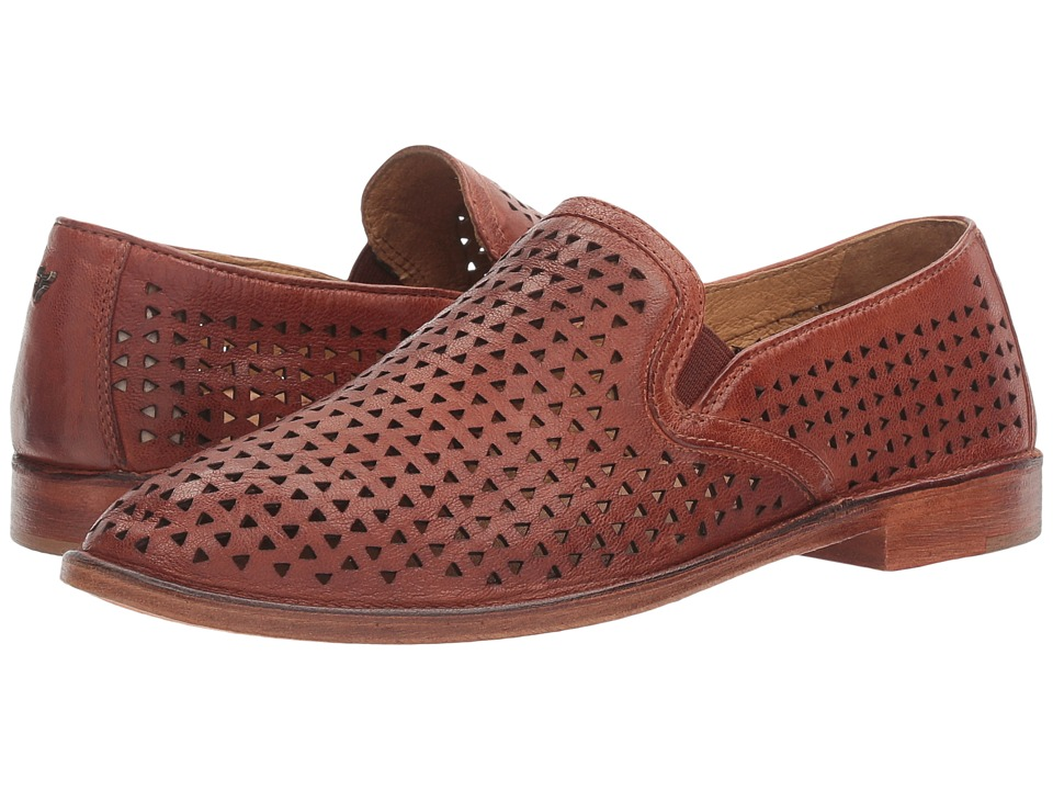 TRASK Ali Perf (Cognac) Women's Slip on  Shoes
