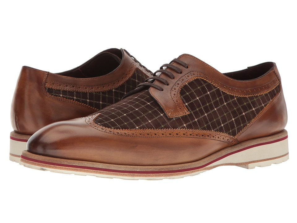 1950s Style Mens Shoes Mezlan - Paulov CognacBrown Mens Shoes $395.00 AT vintagedancer.com