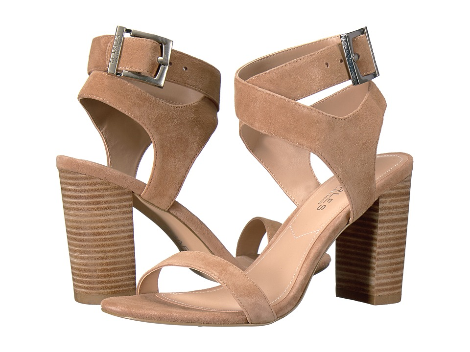 Charles by Charles David Eddie (Natural Suede) High Heels