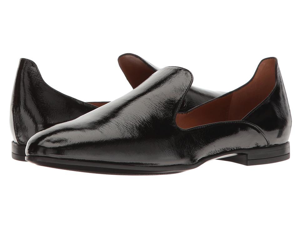 Aquatalia Emmaline (Black Naplak) Women's Shoes