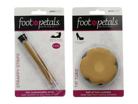 Foot Petals Strappy Shoe Cushion Kit - Assorted