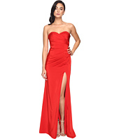 Faviana - Faille Satin Strapless w/ Side Draping 7891