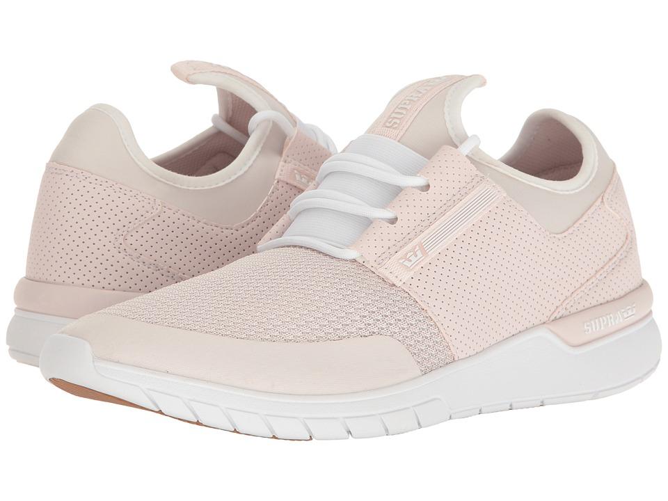 Supra Flow Run (Light Pink/Light Pink/White) Men