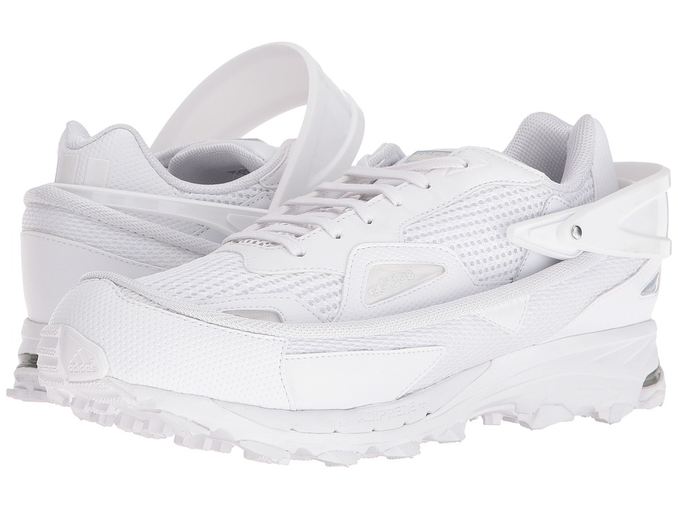 Image of adidas by Raf Simons - Raf Simons Response Trail 2 (Footwear White/Maroon/Bright Blue) Men's Shoes