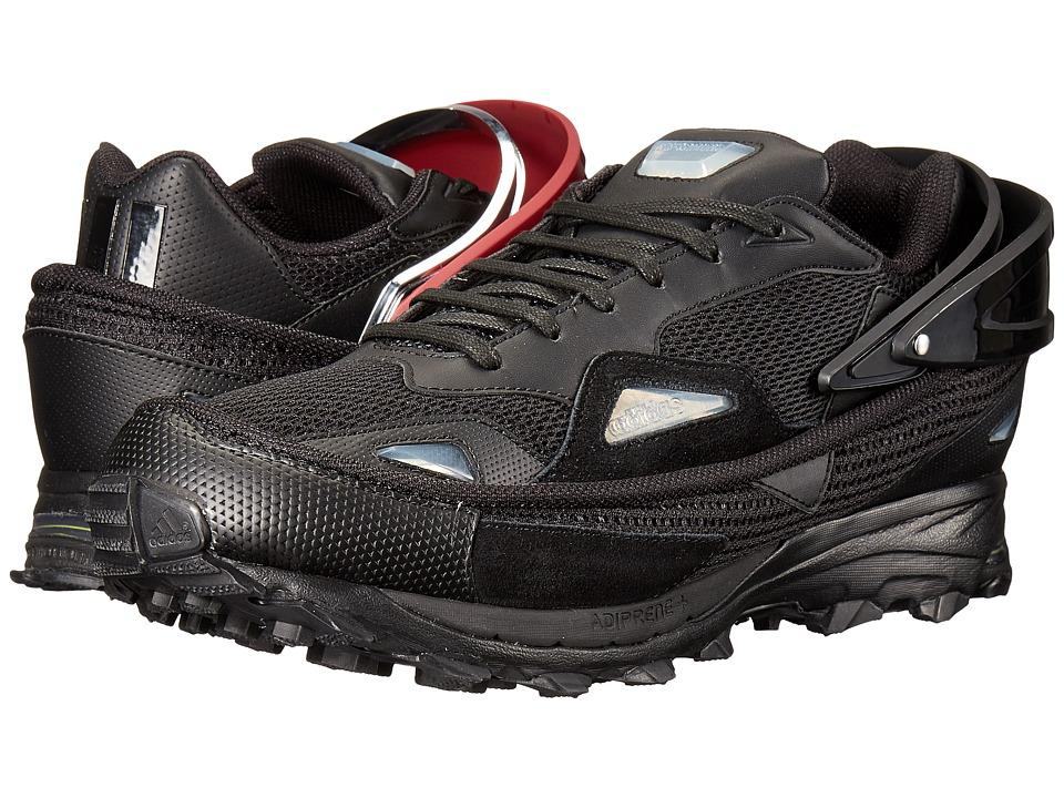 Image of adidas by Raf Simons - Raf Simons Response Trail 2 (Core Black/Core Burgundy/Silver) Men's Shoes