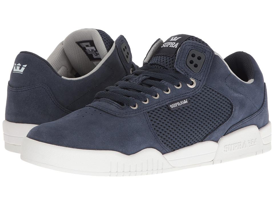 Supra - Ellington (Navy Suede/Navy/White) Mens Shoes