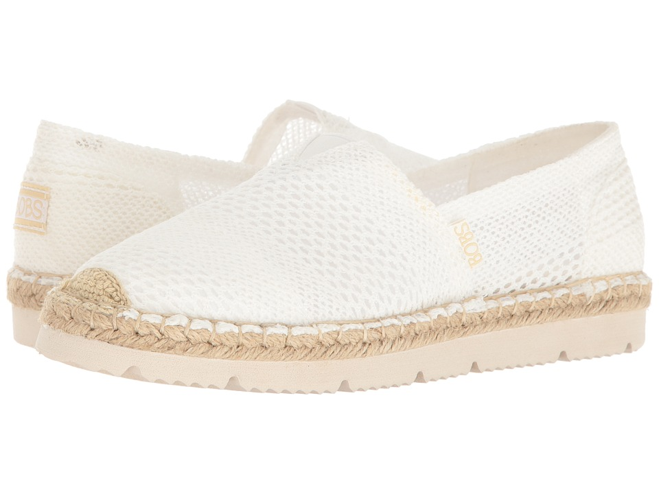 BOBS from SKECHERS Flexpadrille 2 (White) Women