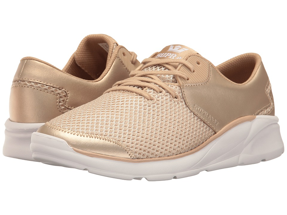 Supra Noiz (Rose Gold/Rose Gold/White) Women