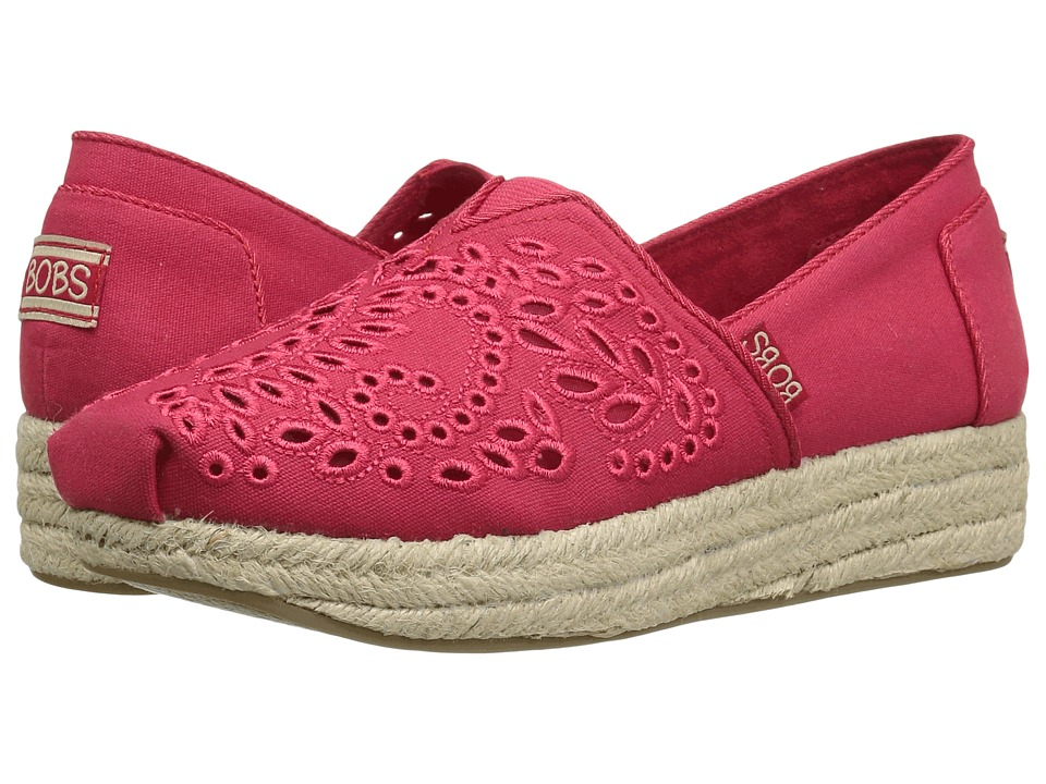 BOBS from SKECHERS Highlights Sun Flowers (Red) Women