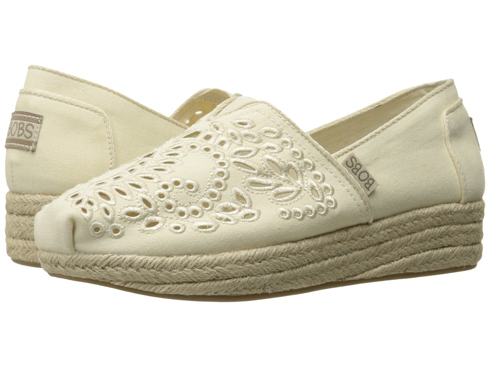 BOBS from SKECHERS Highlights Sun Flowers (Natural) Women
