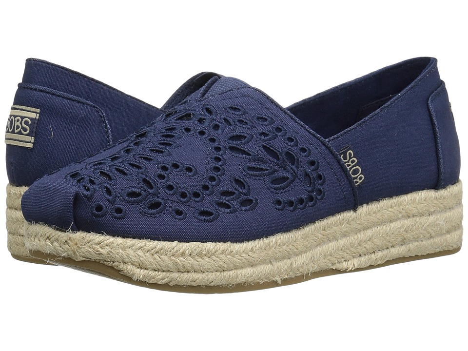 BOBS from SKECHERS Highlights Sun Flowers (Navy) Women