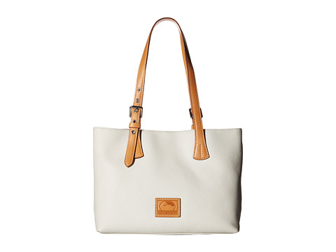 Dooney & Bourke Patterson Small Hanna - Bone/Butterscotch Trim