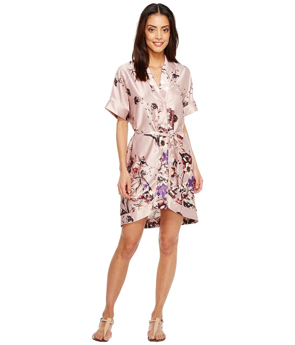 Brigitte Bailey Winnie Kimono Wrap Dress (Blush) Women's ...