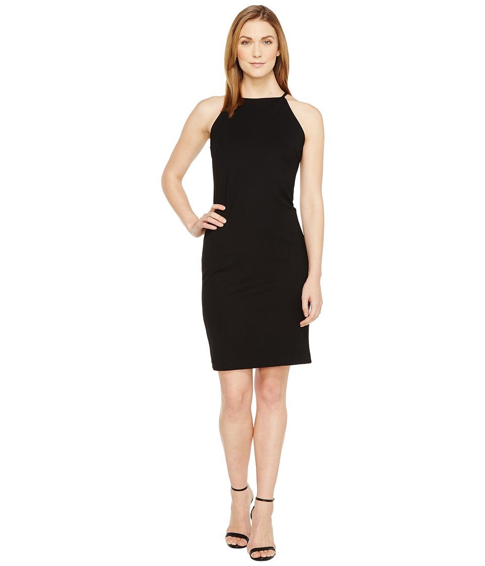 Christin Michaels - Sigrid High Neck Spaghetti Strap Dress