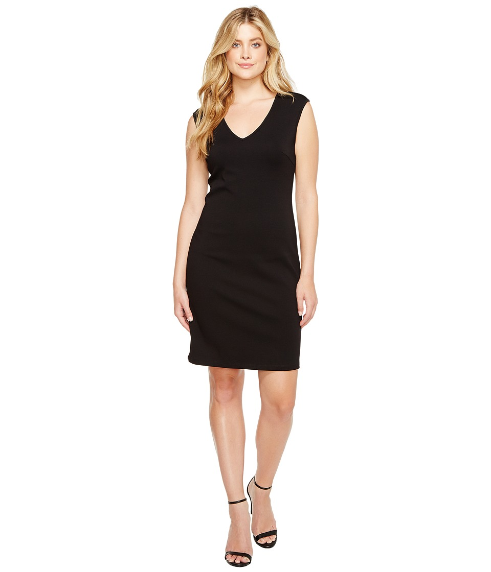 Christin Michaels - Leena V-Neck Bodycon Dress