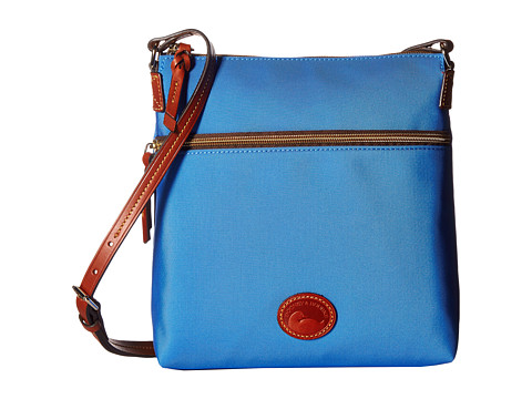 Dooney & Bourke Nylon Crossbody - French Blue/Tan Trim