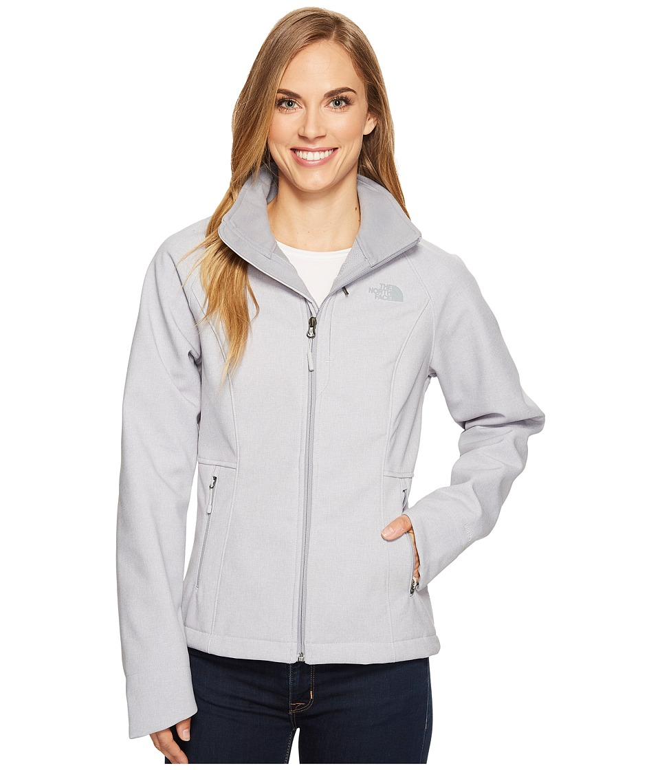 The North Face Apex Bionic Jacket (TNF Light Grey Heather/Mid Grey/Mid Grey) Women