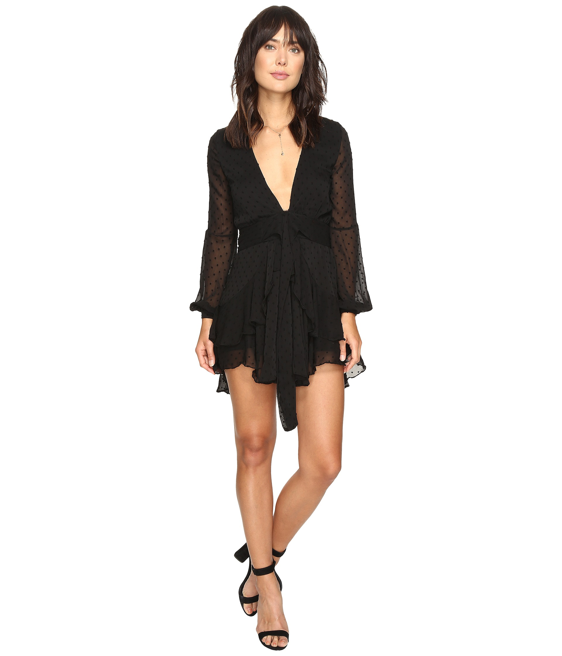 Long Sleeve Mini Dress - Shipped Free at Zappos