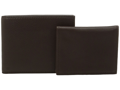 Polo Ralph Lauren Pebble Leather Passcase - Brown