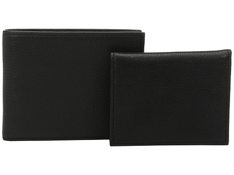 Polo Ralph Lauren Pebble Leather Passcase - Black