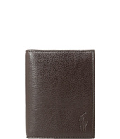 Polo Ralph Lauren - Pebble Leather Billfold w/ Window