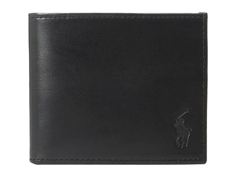 Polo Ralph Lauren Calf Leather Billfold - Black