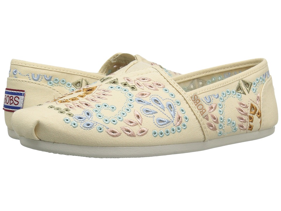 BOBS from SKECHERS Bobs Plush Candy Coated (Natural/Multi) Women