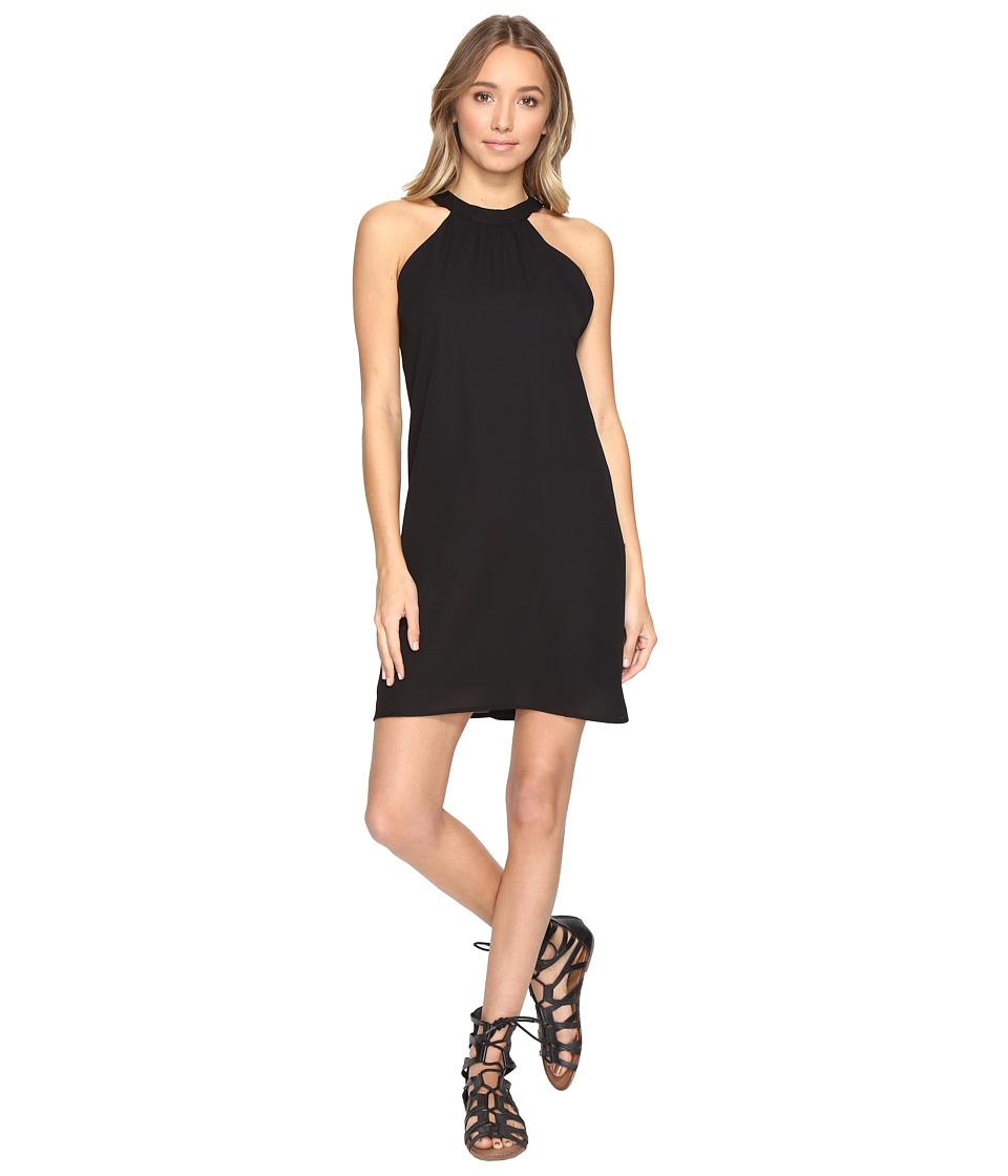 Lucy Love Victoria Dress (Black Out) Women