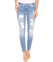 7 For All Mankind - The Ankle Skinny with Destroy in Light Wash