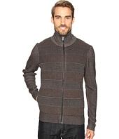 Perry Ellis - Textured Full Zip Sweater