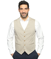 Perry Ellis - Regular Fit Stretch Heather Twill Suit Vest