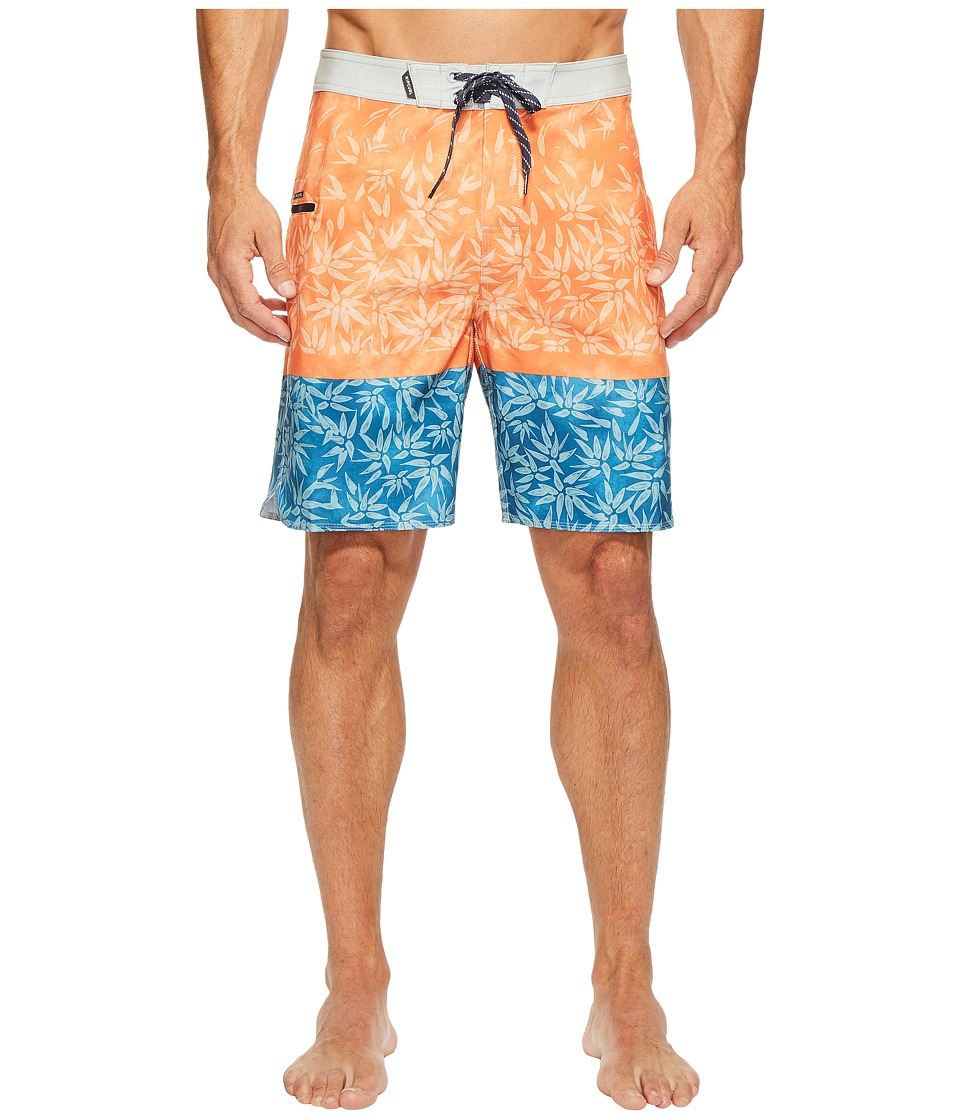 Rip Curl Mirage Channels Boardshorts (Orange Popsicle) Men