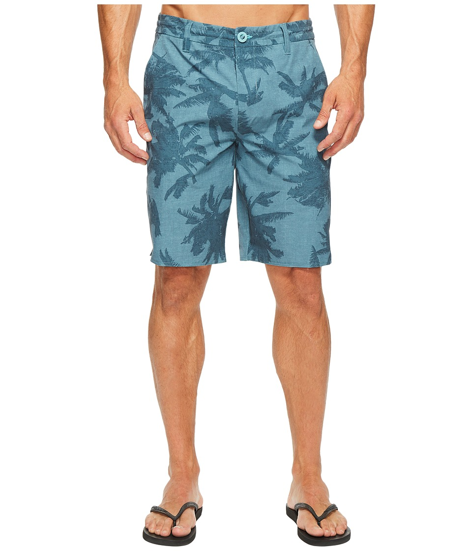 Rip Curl Mirage Palmtime Boardwalk Walkshorts (Aqua) Men