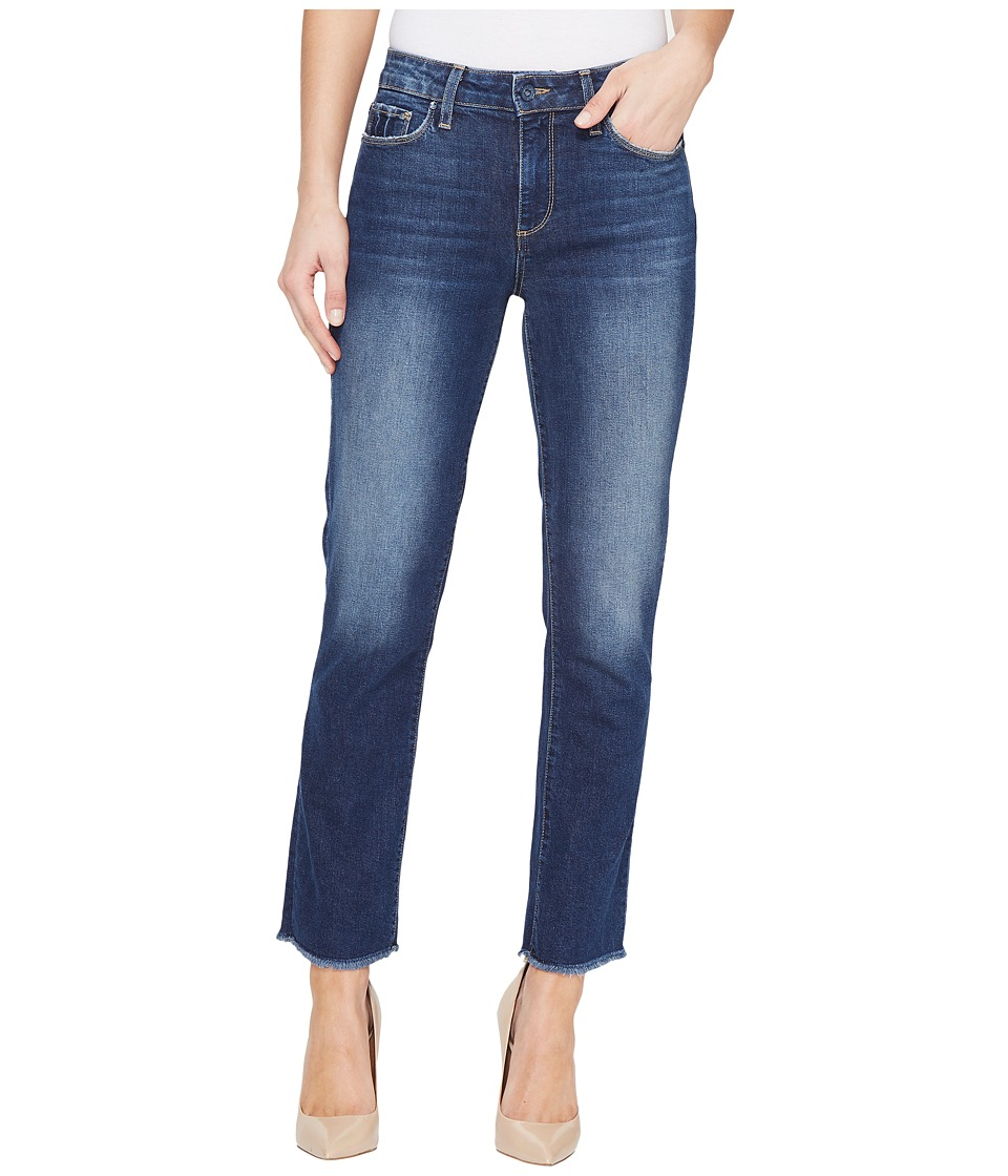 Paige Jacqueline Frayed Hem w/ Shadow Pocket in Domino (Domino) Women