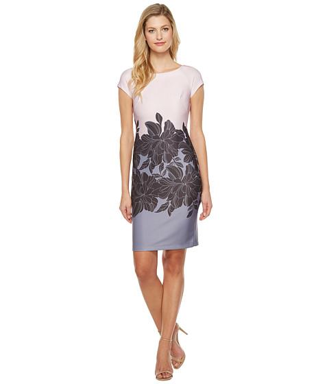 Taylor Scuba Fit & Flare Dress