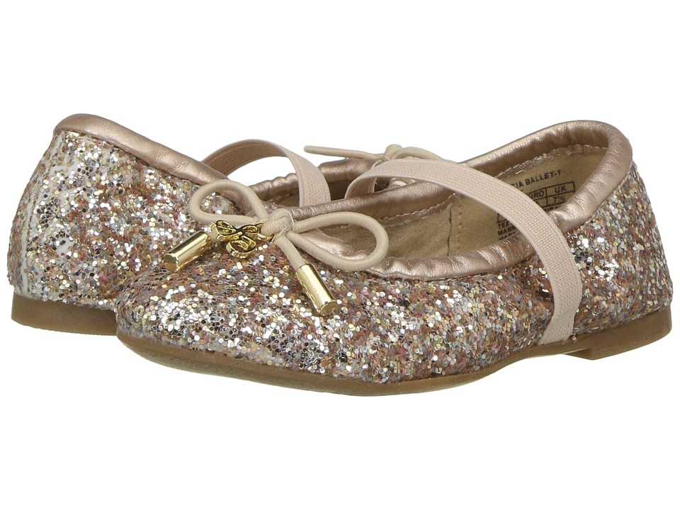 Sam Edelman Kids - Felicia (Toddler) (Light Pink Blush Glitter) Girls Shoes