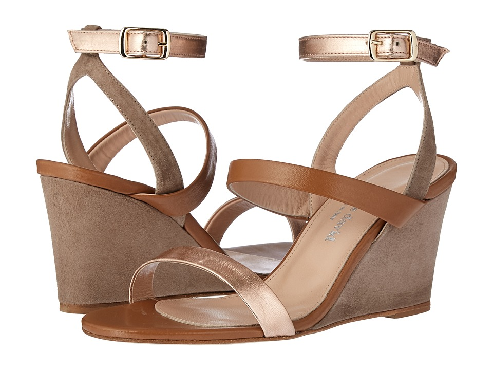 Charles by Charles David Charles David Cassie (Rose Metallic Leather/Camel Suede) Women